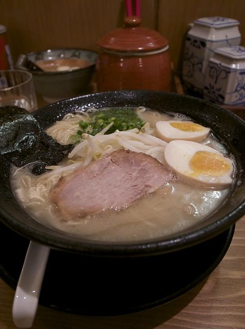 味玉ラーメン(大塚「天神力」)