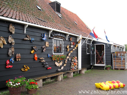 Wooden Clog Workshop, Zaanse Schans Windmill Village