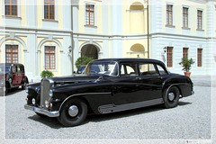 1957 Maybach SW 38 (customized for Karl Maybach) (06) (Georg Sander) Tags: pictures auto old wallpaper black classic cars car vintage photo automobile noir foto shot image photos shots antique negro picture palace retro photograph fotos carl classics 1957 vehicle karl customized oldtimer sw autos custom bild capture chateau schloss nero schwarz barock bilder meets ludwigsburg 38 umbau captures maybach barockschloss automobil aufnahmen aufnahme residenzschloss sonderanfertigung umgebaut sw38