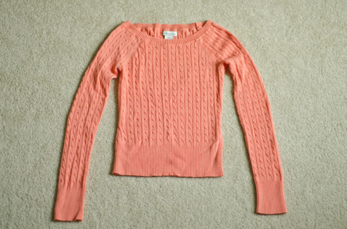 Pink-thrifted-sweater