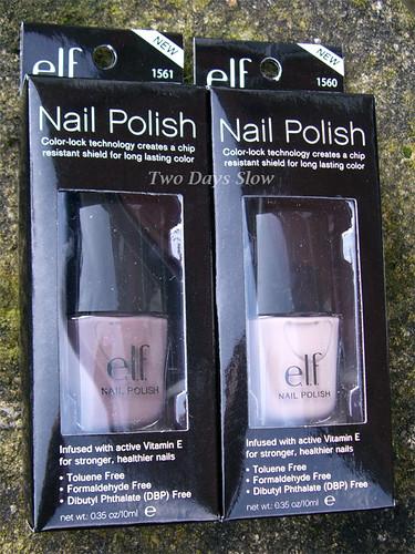 E.L.F. Nail Polishes