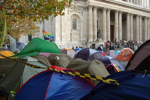 Occupy St Pauls Nov 11 2