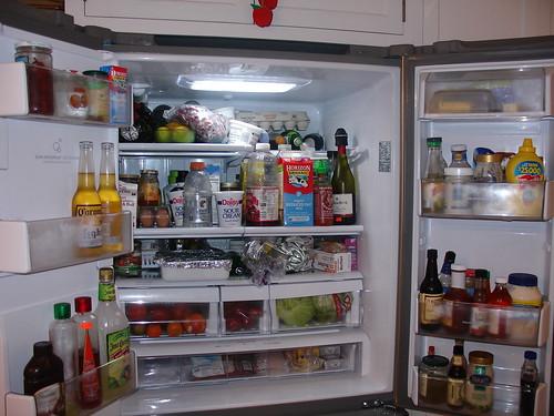 Refrigerator - before