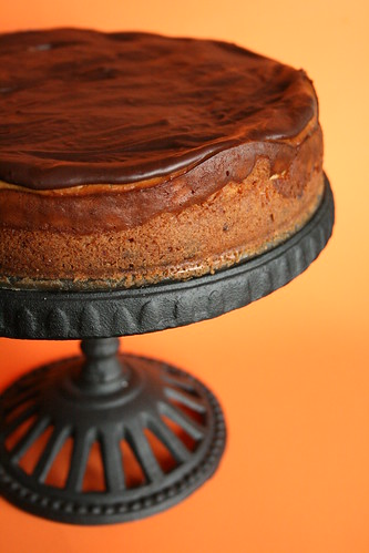 Chocolate-Covered Orange Cheesecake.