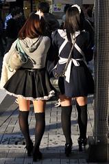 Akihabara Girls in Maid Costumes (5oulscape) Tags: costumes girls anime japan tokyo manga akihabara maid 2010
