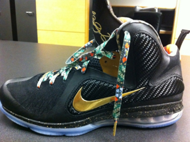 Lebron-9-Custom-Givenchy-Watch-The-Throne-Kanye-West-JayZ-sneakers-0