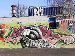 graffiti (wojofoto) Tags: streetart holland graffiti nederland netherland ndsm noord amstredam wolfgangjosten wojofoto