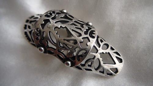 fashion jewelry punk ring 2 piece swimwear