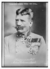 Commdr. Michael Edler von Appel  (LOC) (The Library of Congress) Tags: general appel moustaches libraryofcongress officer medals xmlns:dc=httppurlorgdcelements11 austrohungarianarmy greatmustachesoftheloc dc:identifier=httphdllocgovlocpnpggbain17759 michaeledlervonappel vonappel