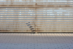 (Crausby) Tags: shadow abstract bar spain rust iron espana colonia mallorca corrugated majorca