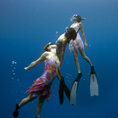 Ascending (bodiver) Tags: ambientlight wideangle freediving fins freedivers honaunau underwatermodel orcadivers