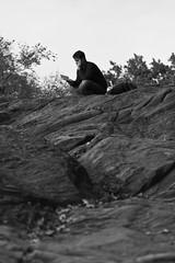 Stranger - the reader (@jensnink) Tags: street nyc travel people newyork brooklyn coneyisland centralpark stranger brooklynbridge grandcentralstation empirestate manhatten topoftherock publiclibrary katz'sdeli