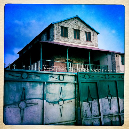 Zeila House of Governor  thru Iphone Hipstamatic - Somaliland
