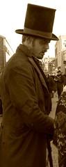 Bill Sikes lookalike? (pefkosmad) Tags: people docks costume market gloucestershire gloucester picnik lookalike charlesdickens victorianchristmas billsikes