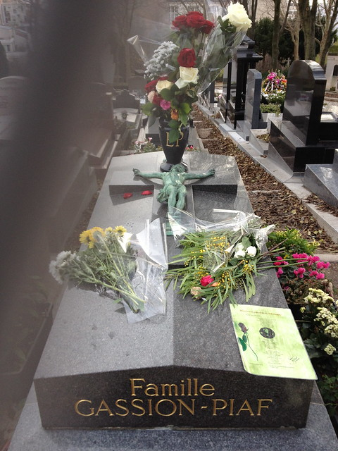 EDITH PIAFs grave