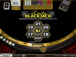 Lucky Blackjack game
