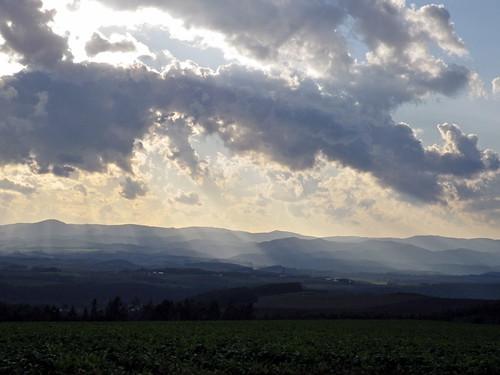 斜陽2~就実の丘風景