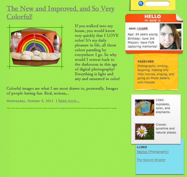 blog prototype