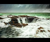 Thor's Well (Tony DeSantis Photography) Tags: ocean motion green water clouds oregon canon movement rocks hole pacific pacificnorthwest nik slowshutterspeed colorefexpro topazadjust thorswell topazinfocus