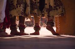 Dancing is like dreaming with your feet!  ~Constanze (Amar Jain) Tags: dance shadows play dancers dancing hyderabad shilparamam paayal