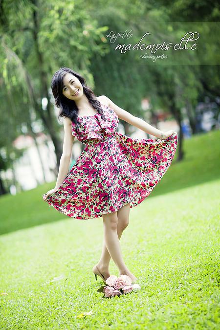 Chụp hình chân dung ngoại cảnh - Model Nhã Khanh