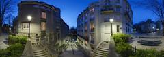 Place Dalida, Montmartre, Paris (Timographie360) Tags: paris 360 montmartre panoramique placedalida timographie360