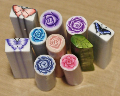 polymer clay drawer pulls (2)