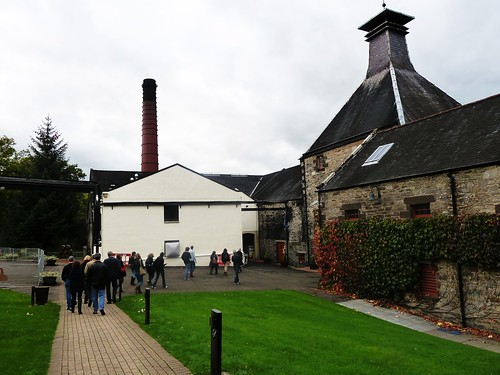 Distillery Tour, Aberfeldy Distillery