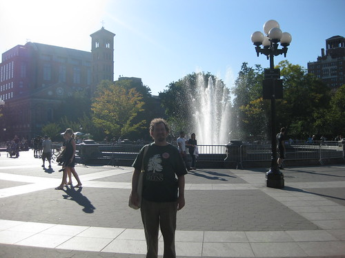 Ian at Washington Square Park NYC