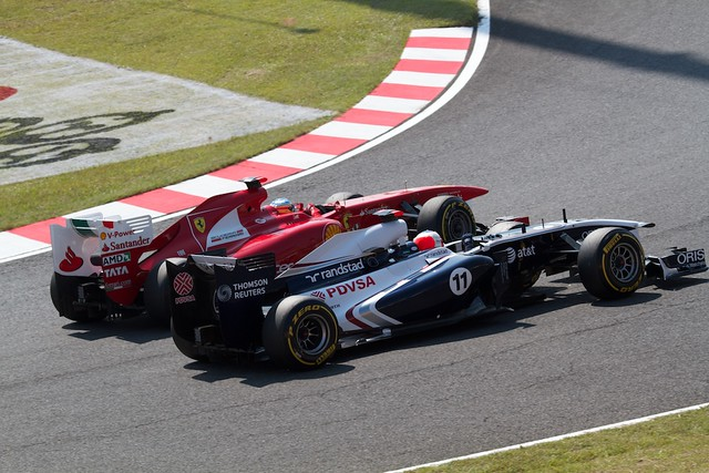 Alonso VS Barrichello