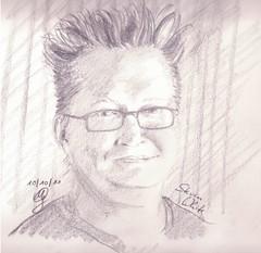 Portrait Steven White (Sketchmanni) Tags: party portrait pencil ink sketch julia drawing emma kay sketchbook doodle manuel bild tinte scribble bleistift grote moleskin zeichnung sktech manni jkpp moeskinerie