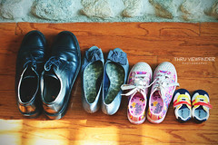 Monday Quote : You cannot put the same shoe on every foot. ~Publilius Syrus (ThruViewfinderPhoto) Tags: stilllife shoe shoes