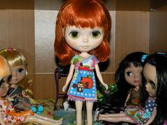 Clover met a few of the girls!