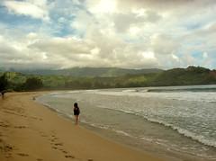 Hanalei Beach (Sarah and Jason) Tags: vacation beach hawaii october kauai hanalei bysarah 2011 hanaleibeach takenonsarahsphone