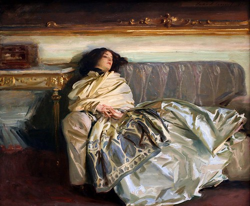 John Singer Sergeant - Repose [1911] by Gandalf's Gallery