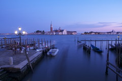 brush painted (maybemaq) Tags: longexposure blue light sea sky italy cloud holiday tourism church night marina boats island lights islands evening coast boat twilight italia ship nightlights waterfront purple traffic cathedral cloudy streetlights air ships horizon violet floating tourist september shore blueprint gondola gradation piling venezia recent touring biketour piles piaggio piazzasanmarco sangiorgiomaggiore gondole tourismo veneto thebluehour giudecca afterthesunset seatraffic rivadeglischiavoni maybemaq the4elements colorphotoaward roadtorome stradaperroma blinkagain roadtoroma