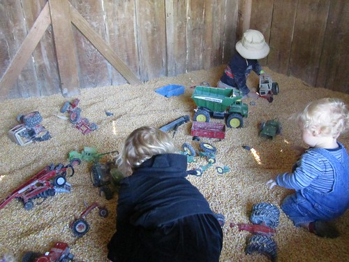 corn bin