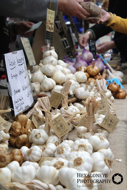Southsea Farmers Market - The Garlic Farm