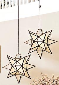 Pottery Barn used to sell variations on the Moravian star light, but they  donu0027t seem to have them in