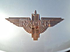 329 (Lagonda) Rapier Badge (robertknight16) Tags: british badges rapier