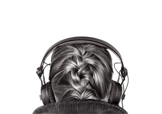 dibujos de mujeres vistas desde la espalda