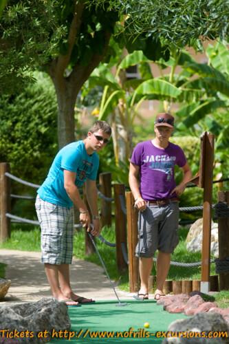 Palma Nova crazy golf