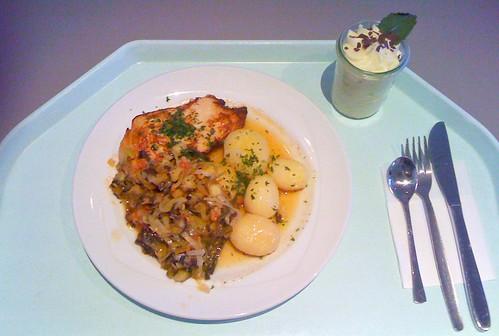 Hähnchenbrust provinzialischer Art / Chicken breast provence style
