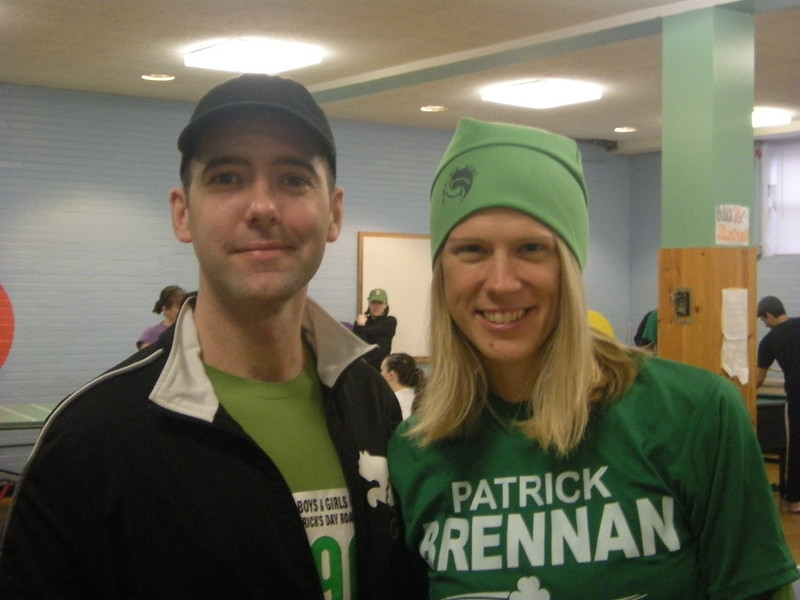St. Patrick's Day 5K Road Race and Walk, 2010