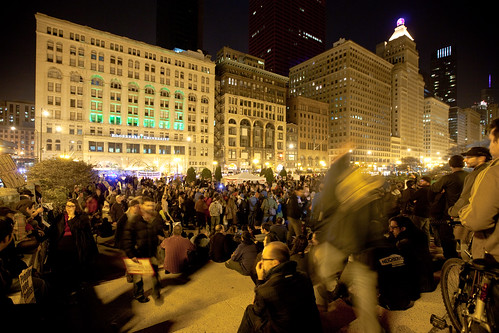 Occupy Chicago Demonstration