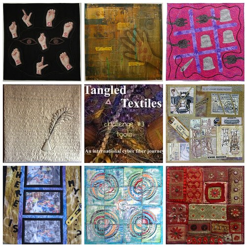 Tangled Textiles' challenge #2 mosaic