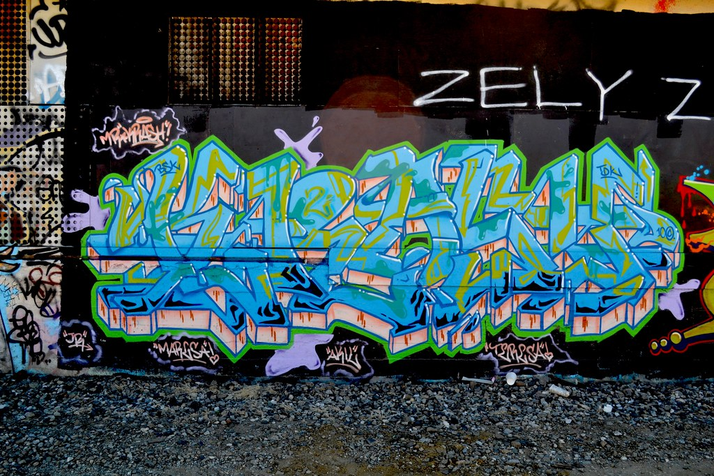 KRASH 2, TDK, the yard, Graffiti, Oakland,