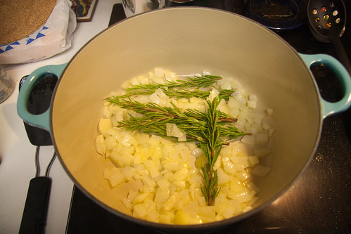Onion, Garlic and Rosemary