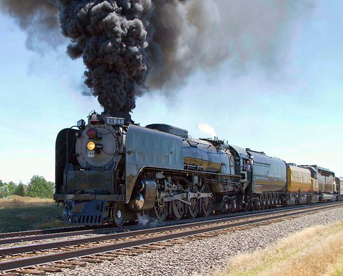 Union Pacific Steam Locomotive Engine
