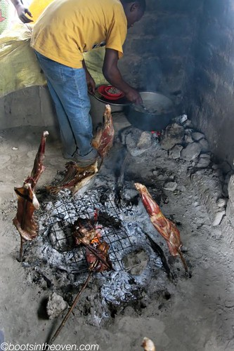 Nyama Choma (roast meat)